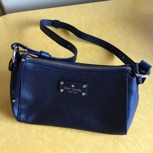 Kate Spade Black Leather Medium Purse